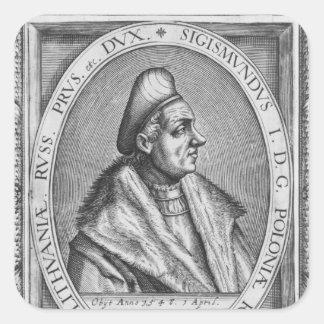 Sigismund I Square Sticker