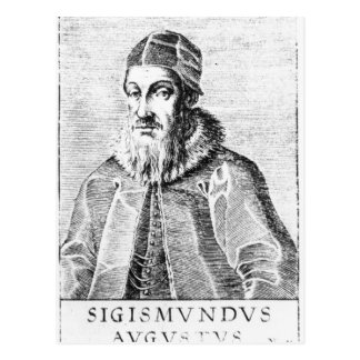 Sigismund II Augustus Postcard