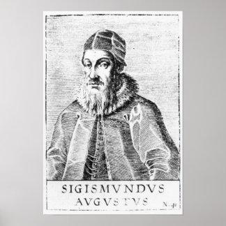 Sigismund II Augustus Poster