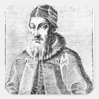 Sigismund II Augustus Square Sticker