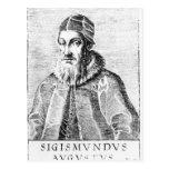 Sigismund II Augustus Tarjeta Postal