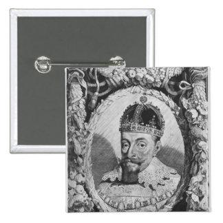 Sigismund Vasa, King of Poland and Sweden Button
