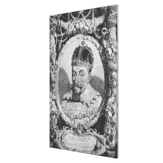 Sigismund Vasa, King of Poland and Sweden Canvas Print