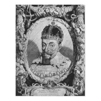 Sigismund Vasa, King of Poland and Sweden Postcard