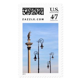 Sigismund's Column in Warsaw Postage Stamp