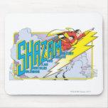 Siglas 2 de Shazam Mouse Pad