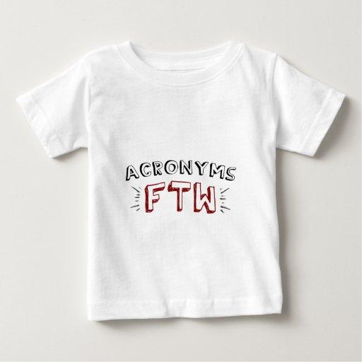 Siglas FTW Camisetas