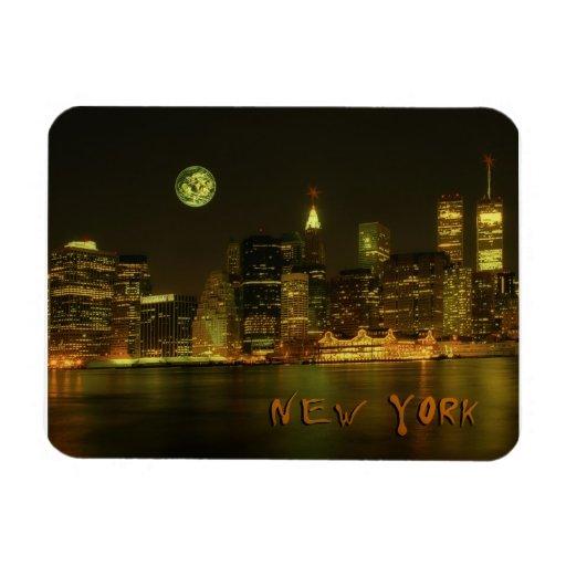 Siglo de Nueva York 20 Imán Rectangular