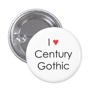 Siglo del corazón I gótico Pins