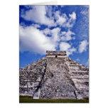 Siglo del EL Castillo-11th maya/ruinas de Toltec Tarjeta De Felicitación
