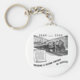 Siglo II del Ferrocarril-UNo del valle de Lehigh d Llavero Redondo Tipo Pin