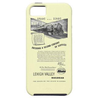 Siglo II del Ferrocarril-UNo del valle de Lehigh iPhone 5 Fundas