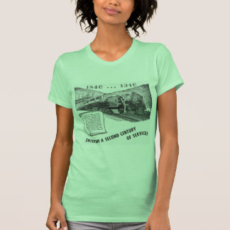 Siglo II del Ferrocarril-UNo del valle de Lehigh Tee Shirt