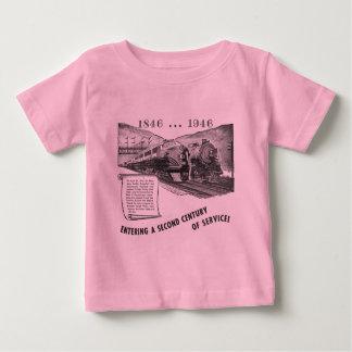 Siglo II del Ferrocarril-UNo del valle de Lehigh Playera De Bebé