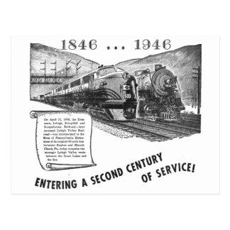 Siglo II del Ferrocarril-UNo del valle de Lehigh Tarjetas Postales