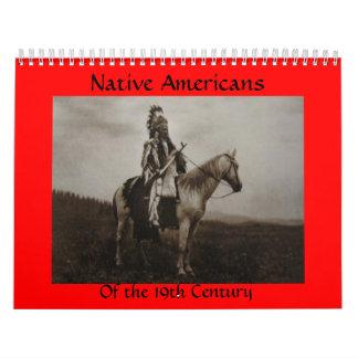 Siglo XIX 1800's del calendario del nativo
