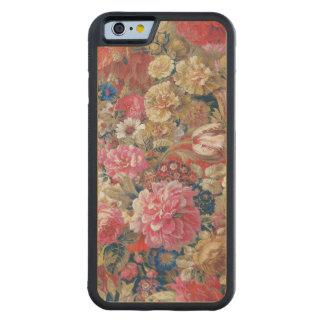 Siglo XIX francés floral del vintage Funda De iPhone 6 Bumper Arce