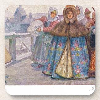 Siglo XVII de Sergey Solomko Posavasos De Bebidas