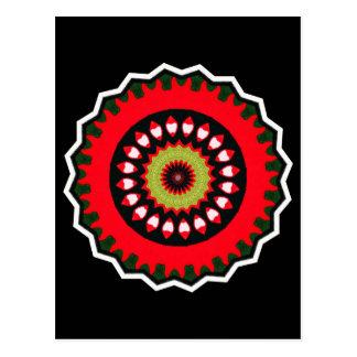 siglo XVIII turco bordado de la alfombra del Postal
