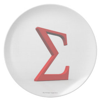 Sigma 2 party plates