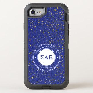 Sigma Alpha Epsilon | Badge OtterBox Defender iPhone 7 Case