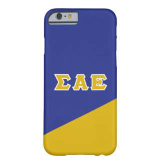 Sigma Alpha Epsilon | Greek Letters Barely There iPhone 6 Case