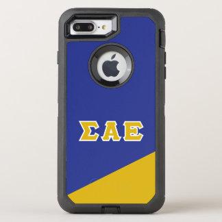 Sigma Alpha Epsilon | Greek Letters OtterBox Defender iPhone 7 Plus Case