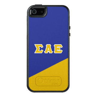 Sigma Alpha Epsilon   Greek Letters OtterBox iPhone 5/5s/SE Case
