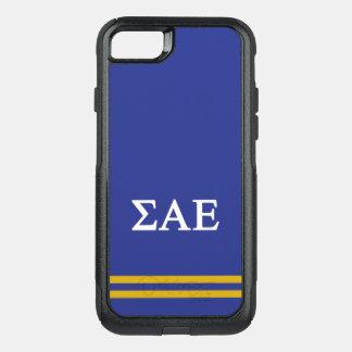 Sigma Alpha Epsilon   Sport Stripe OtterBox Commuter iPhone 7 Case