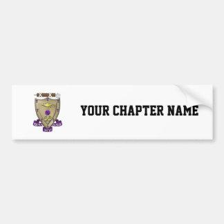 Sigma Alpha Mu Crest Bumper Sticker