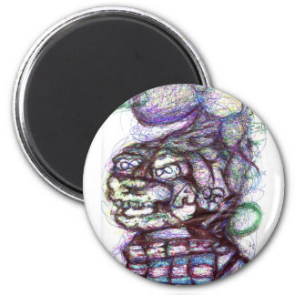 Sigma Cantor Omega Jump 2 Inch Round Magnet