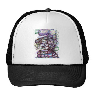 Sigma Cantor Omega Jump Mesh Hat