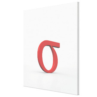 Sigma Stretched Canvas Prints