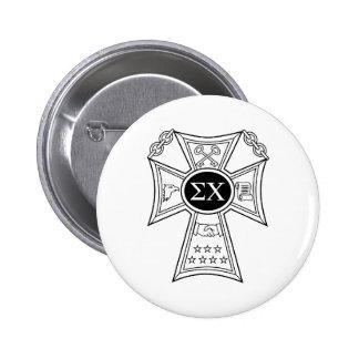 Sigma Chi Badge 2 Inch Round Button