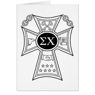 Sigma Chi Badge Card