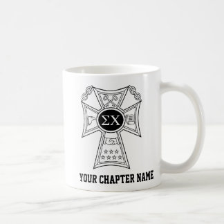 Sigma Chi Badge Coffee Mug