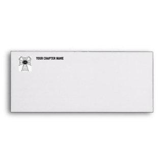Sigma Chi Badge Envelope