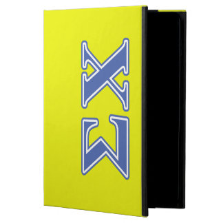 Sigma Chi Blue Letters iPad Air Case