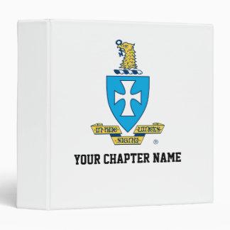 Sigma Chi Crest Logo Binder
