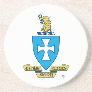 Sigma Chi Crest Logo Drink Coaster