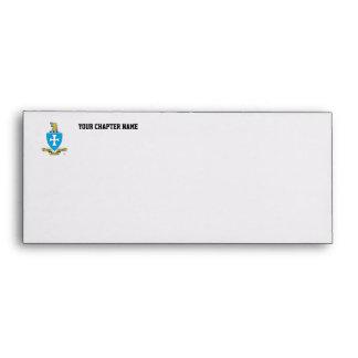 Sigma Chi Crest Logo Envelope
