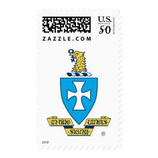 Sigma Chi Crest Logo Postage
