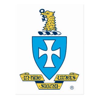 Sigma Chi Crest Logo Postcard