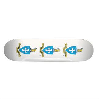 Sigma Chi Crest Logo Skateboard