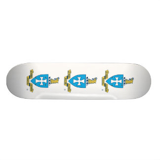 Sigma Chi Crest Logo Skate Board Deck