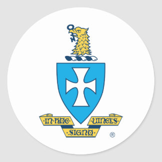 Sigma Chi Crest Logo Stickers