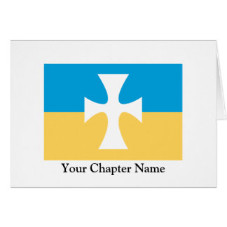 Sigma Chi Flag Card