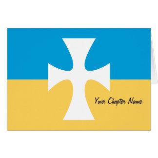 Sigma Chi Flag Card