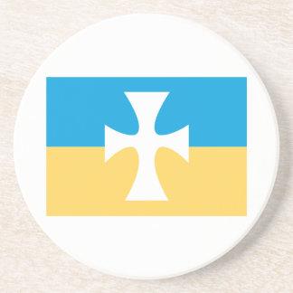 Sigma Chi Flag Drink Coaster