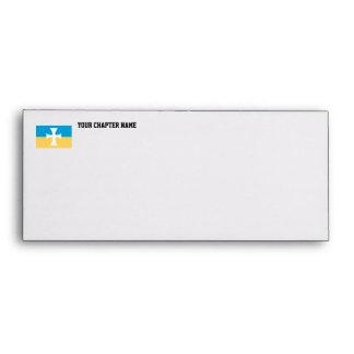 Sigma Chi Flag Envelope